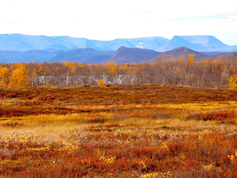 Kilpisjärvi area in September
