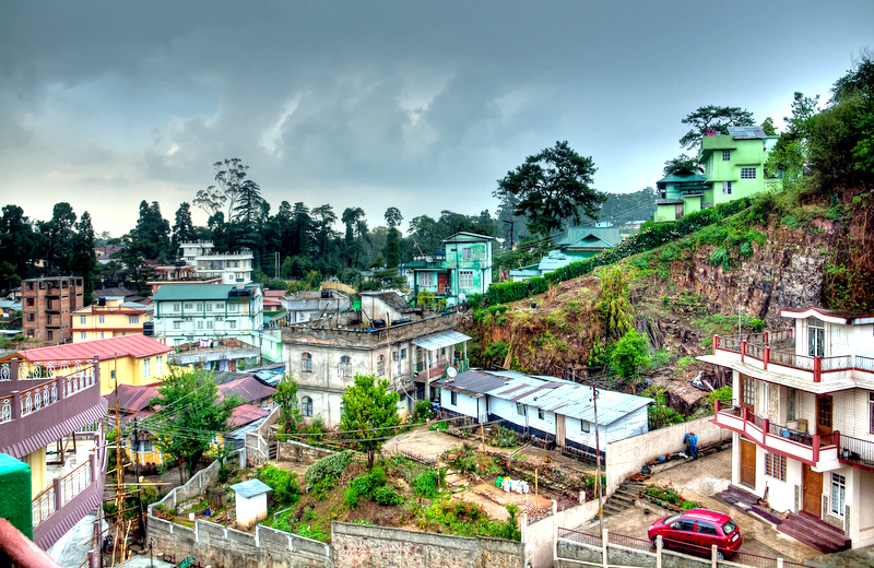 The capital of Meghalaya, Shillong is a hill town at an altitude of 1496 m above sea level.