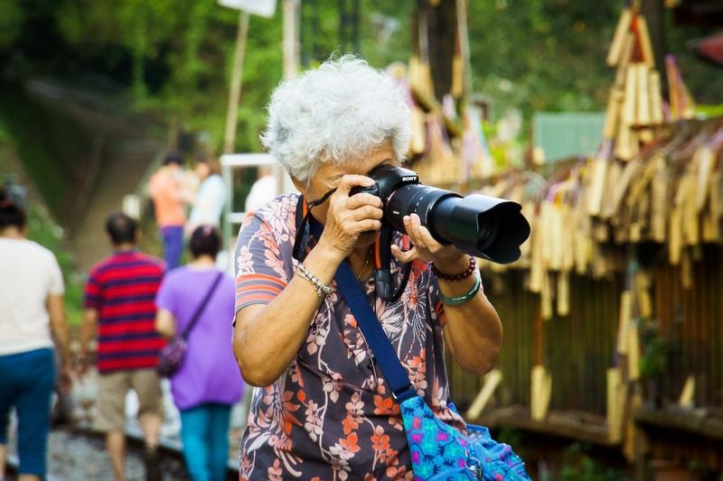 Grandma traveler
