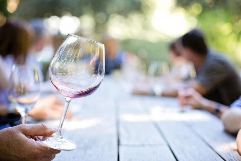 Wine glass winery Picasa