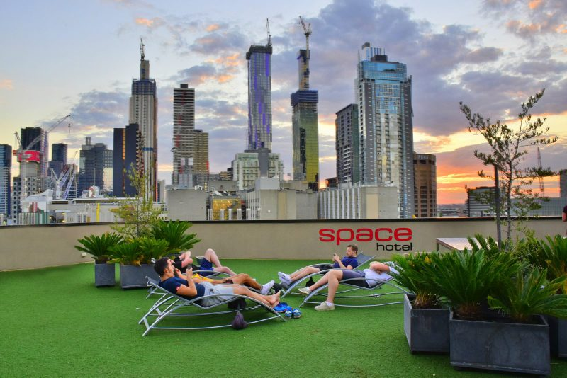 The best base for discovering Melbourne is the Space Hotel
