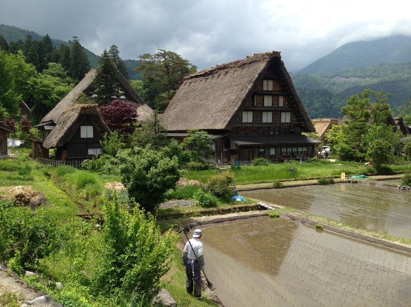 Shirakawa-go in the Japanese Alps