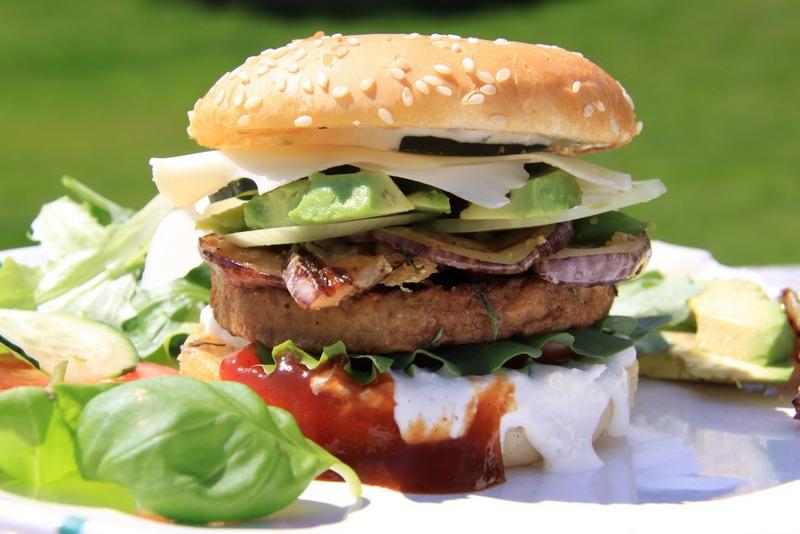Burger food RF