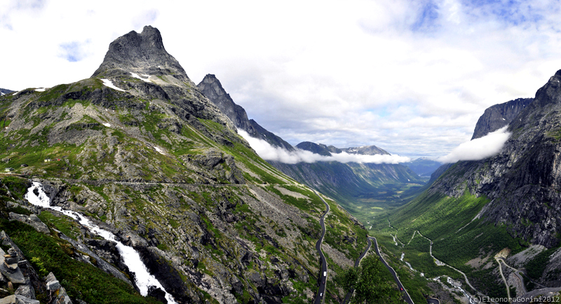 This is a route which is famous for its sharp twists and turns; a narrow road often lined with rows of jagged stones.