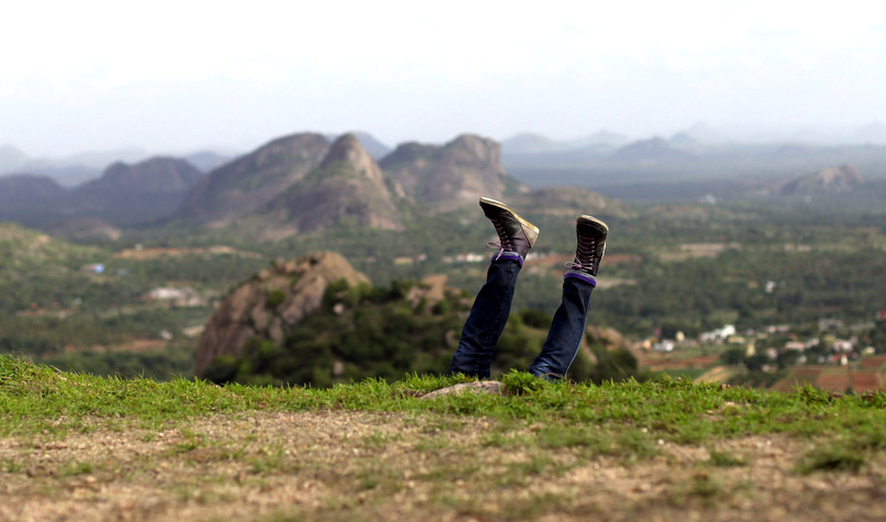 Ramanagaram Valley India