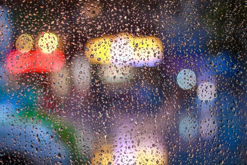 RF Rain car windsheild