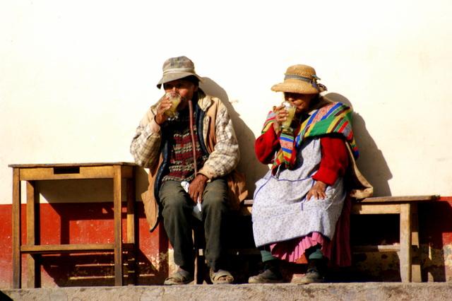 Local community in Peru