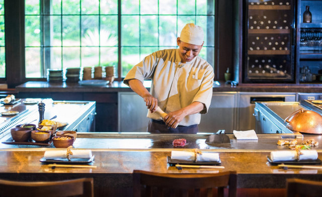 Dining at Grand Hyatt Bali can only be described as a culinary experience
