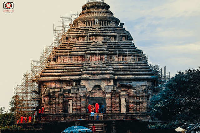 Konark Sun Temple is a 13th-century CE Sun Temple at Konark in Orissa, India.