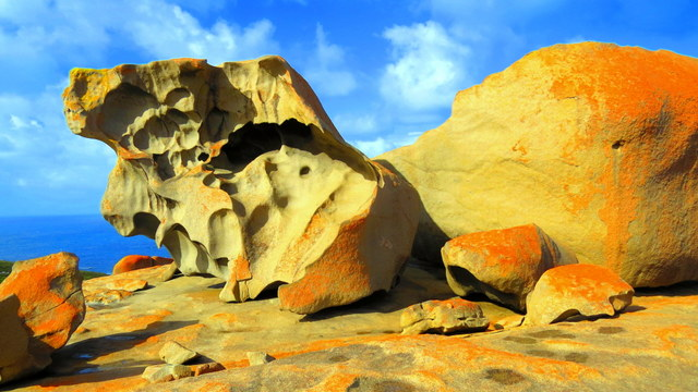 Millions of years in the making, the colorful strangely shaped rocks will have you contemplating what each resembles.