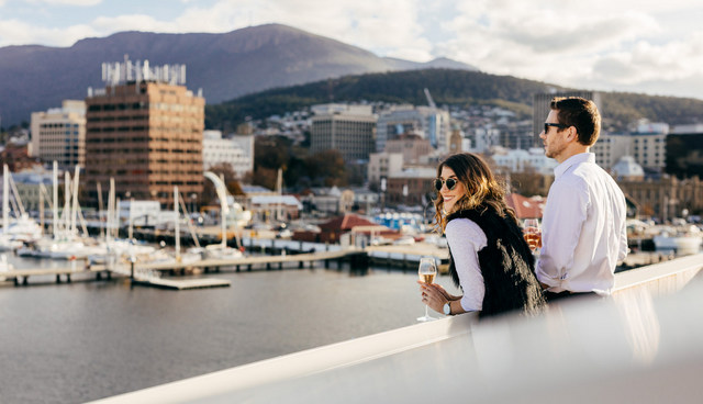 Nestled on the waterfront of Hobart's Franklin Wharf, and inspired by the history and colourful characters of Tasmania's past