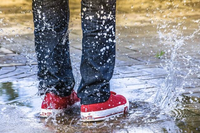 You can enhance and protect most shoes by using a protective waterproof spray.