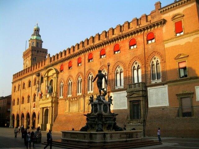 Neptune Square, Bologna, Italy
