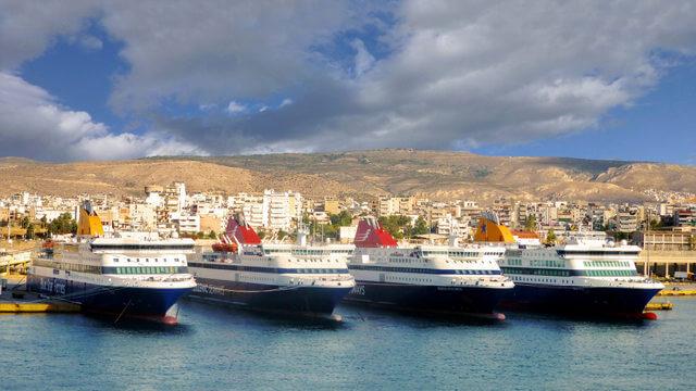 Greece ferries