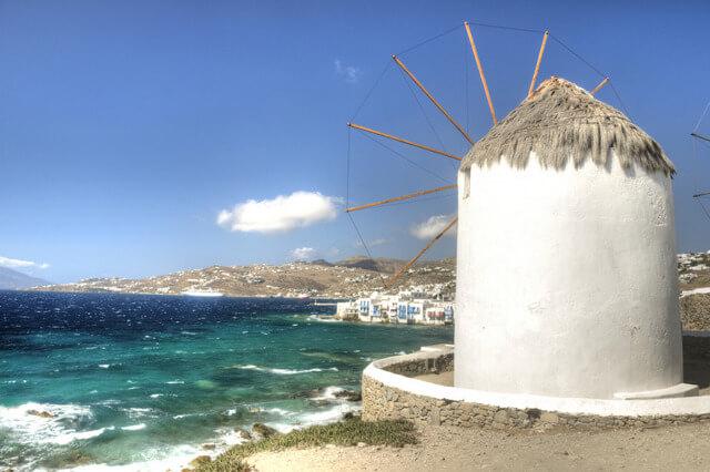 Mykonos' windmills