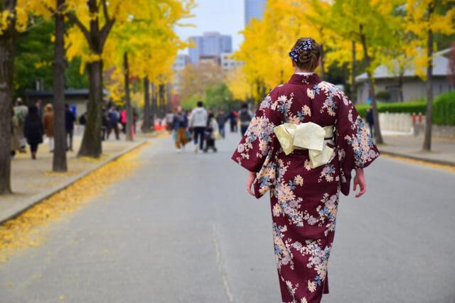 Kimono Wearing Experience Osaka