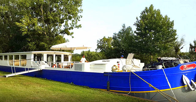 Have you ever considered going on a canal barge cruise?