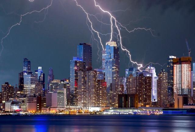 New York weather RF