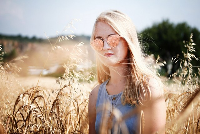 Sunglasses woman girl traveler fashion