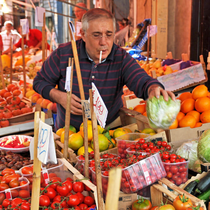 Explore the 4 Historic Street Markets of Palermo, Sicily
