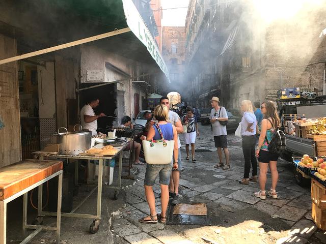 Palermo Ballaró market