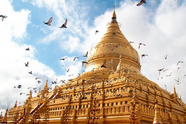 Shwedagon Pagoda Burma