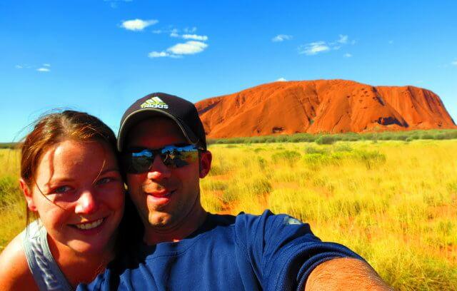 Uluru Megan and Mike