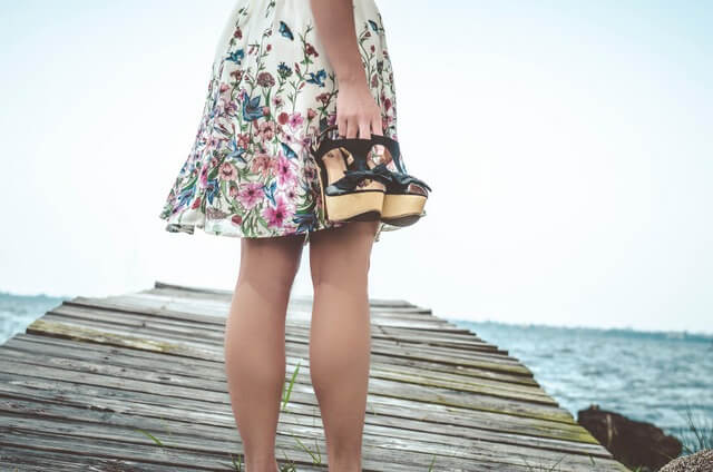 Fashion girl skirt