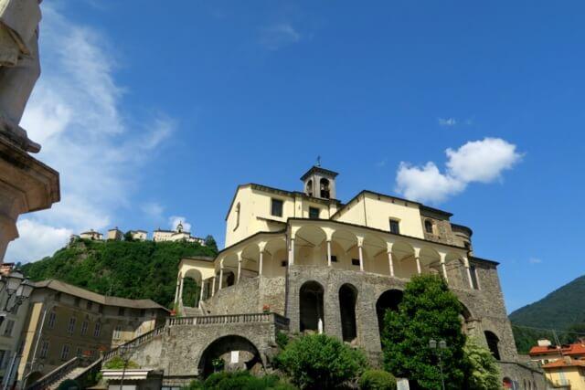 Varallo Church San Gaudenzio