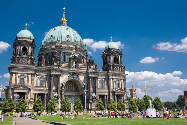 Berlin Cathedral in Lustgarten