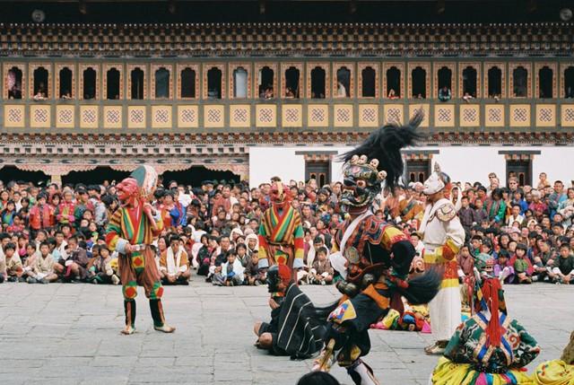 Bhutan festival season