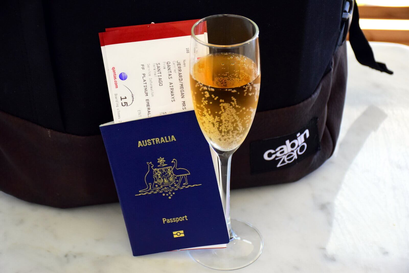 Passport airport champagne
