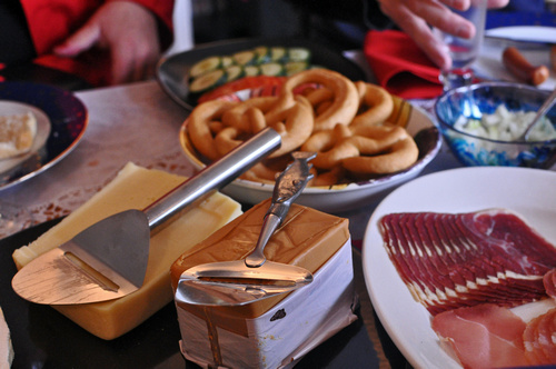 Brunost - brown cheese.