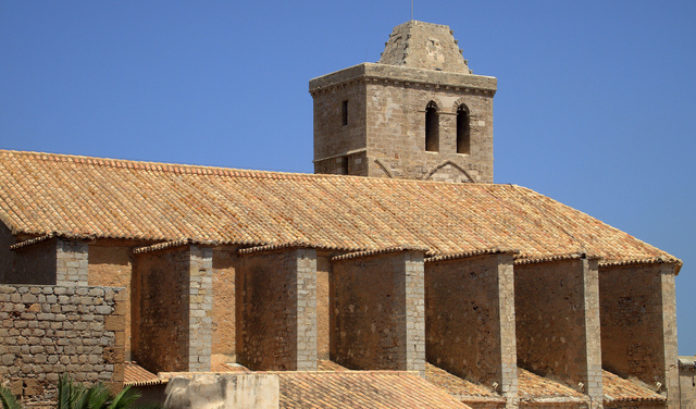 Cathedral in Ibiza Town