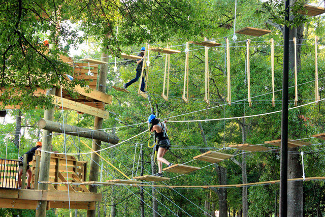 Zipline Obstacle course