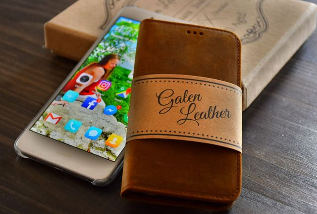 Galen Leather Phone Case