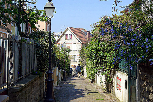 Rue de Mouzaïa Paris