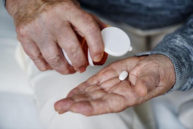RF Medication pills drugs refill