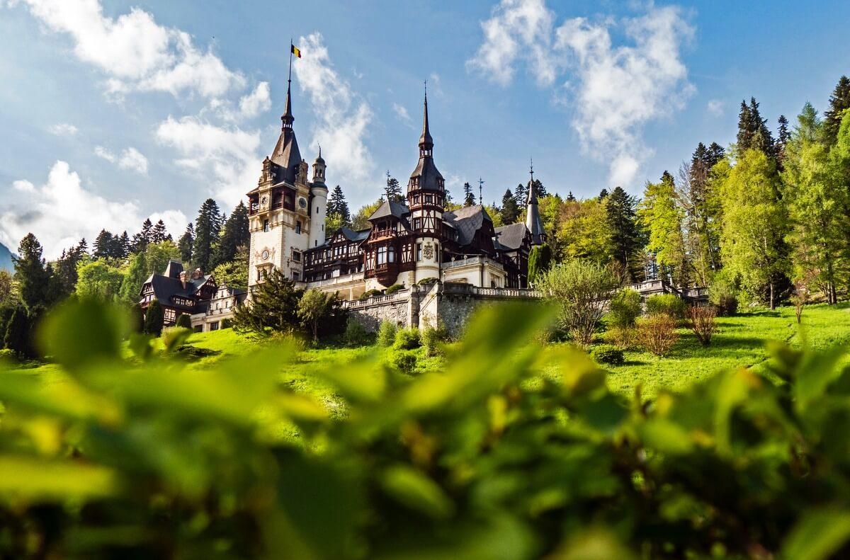 Peles Palace Romania RF