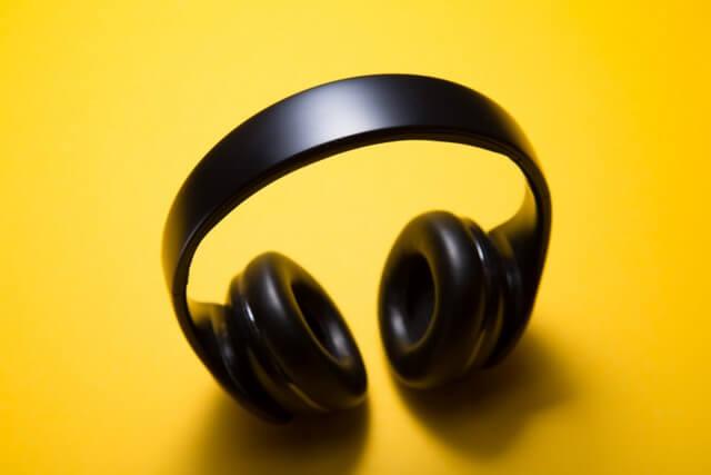 Music headphones video RF