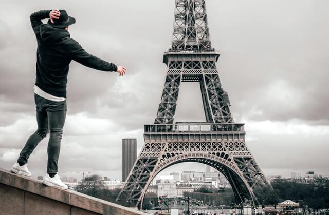 Paris Eiffel Tower RF