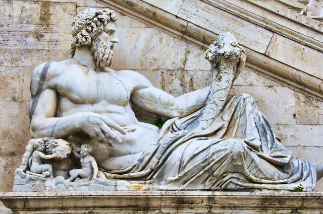 Roman statue RF