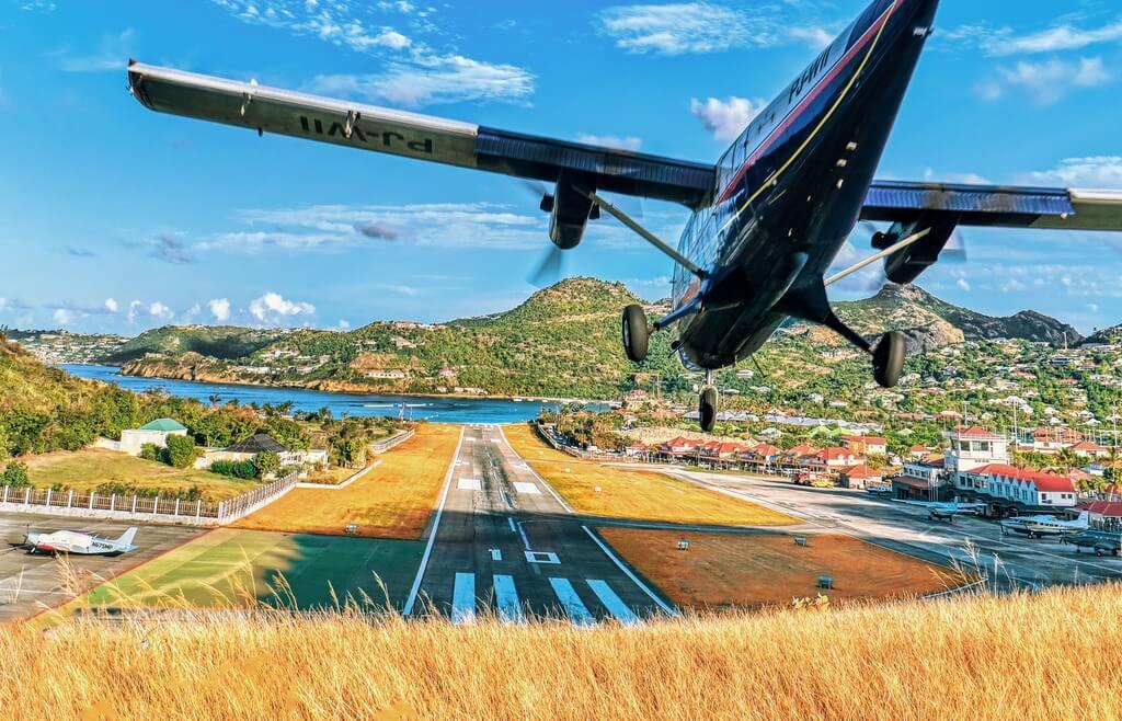 Plane Flight Caribbean RF