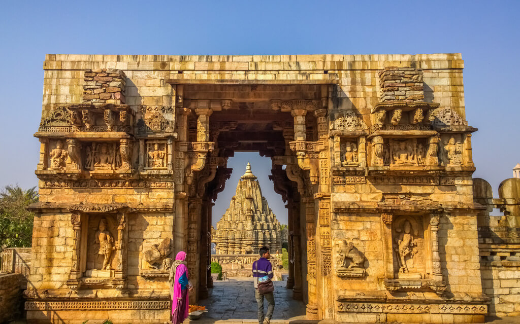 Temple India Chittorgarh Fort
