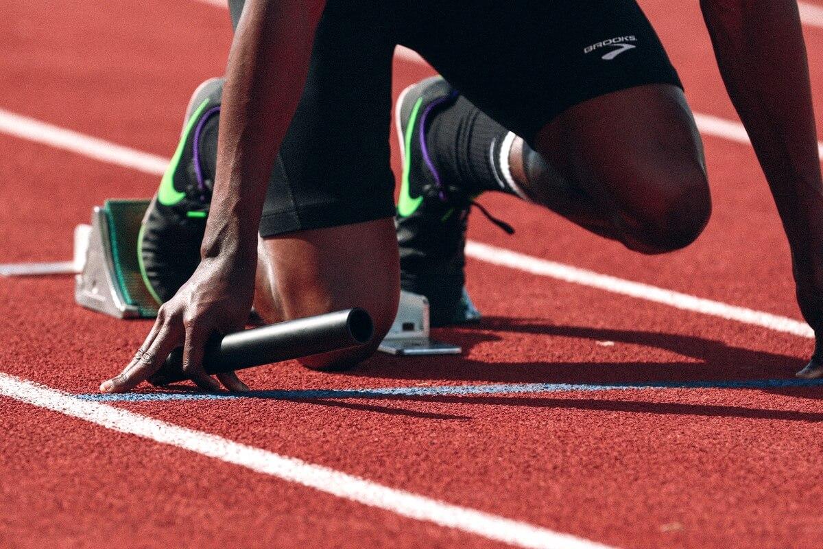 Relay Runner athletics RF