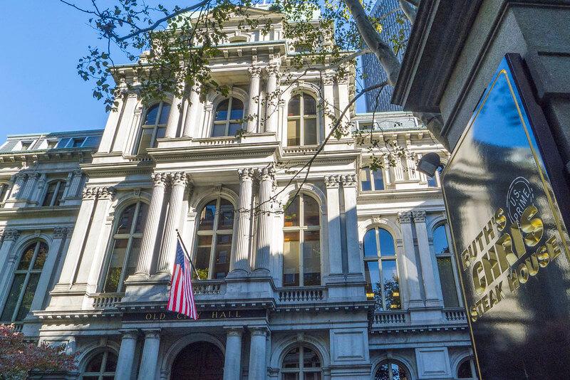 Boston Freedom Trail Town Hall