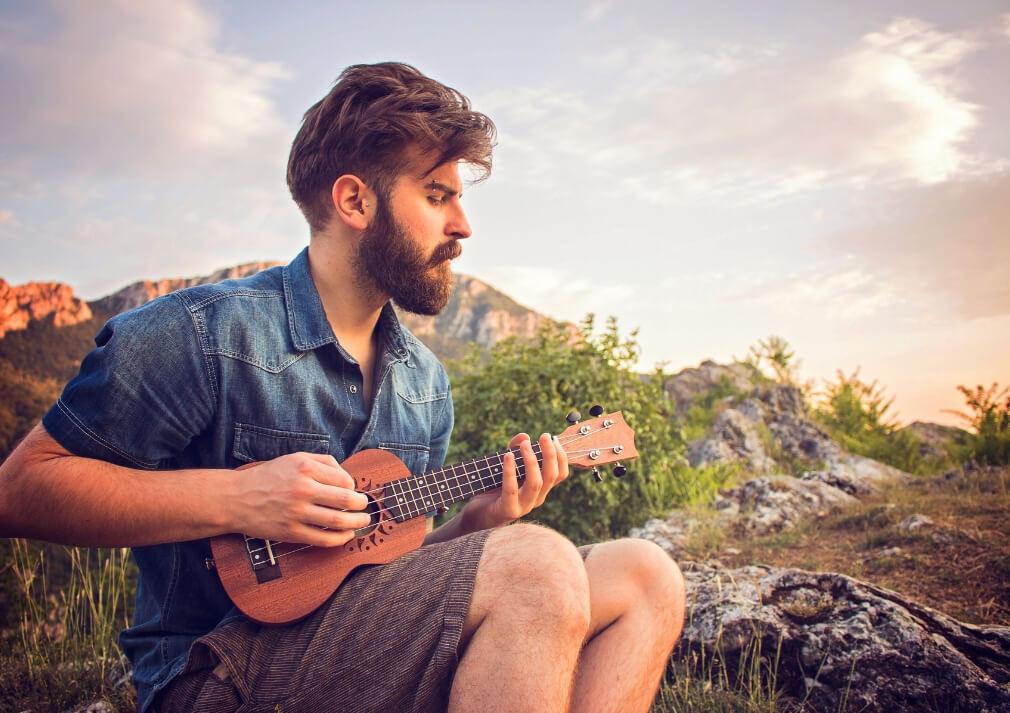 Music RF Ukelele for travel