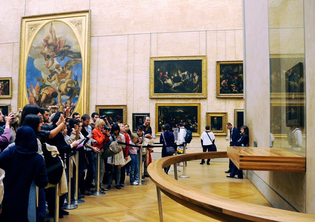 The Lourve Mona Lisa