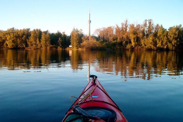 Toronto Islands Canoe