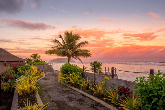 Sunset-at-Lalomanu Samoa
